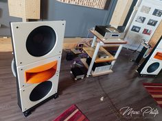 Trio15 Horn1 Open Baffle Speakers by PureAudioProject