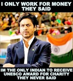 #Shahrukh Best actor n Good humble  he is the BEST