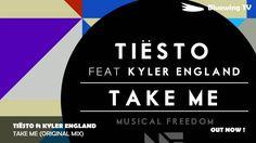 - Tiësto ft Kyler England - Take Me (Original Mix) Take My, Edm, Musicals, England, The Originals, Dance, Summer, Free, Dancing