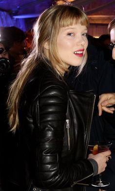 Lea Seydoux - Lea Seydoux Hosts Grey Goose Christmas Boutique Opening