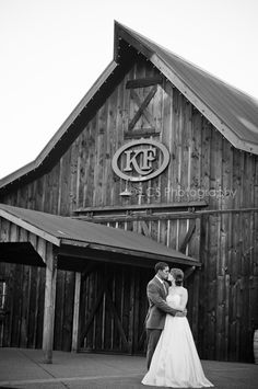 A vintage barn wedding.