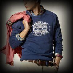 ラルフローレンラグビー メンズ スウェット Ralph Lauren Rugby Lake Crewneck Sweatshirt クルーネック スウェット-アバクロ 通販 ショップ #ITShop