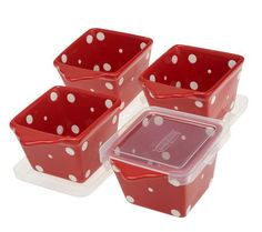 Temp-tations Polka Dot 13-pc Everyday Oven-to-Table Set — QVC.com
