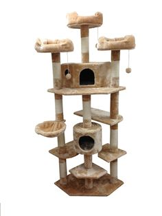 Denver Cat Tree by Kitty Mansions. I really want this for my cats.