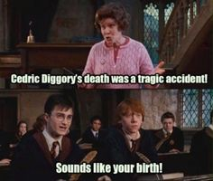 Least Favourite Female Character And Why?: Dolores Jane Umbridge because she's completely horrid.