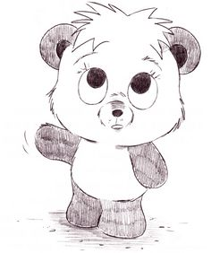 Christopher Hart - Cartoon Animals Cute Panda Bear