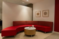 Simplicity can make a space look inviting as well as clean cut. Decor, Kimball Office, Office Furniture, Couch, Space, Office, Home Decor, Inviting, Furniture