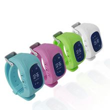 Baby's Q50 Smart watch for Children Kid Wristwatch GSM GPRS Emergency SOS Locator Tracker for iOS Android pk Q100 baby Gift(China)