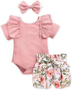 Newborn Girl Outfits, Little Girl Outfits, Cute Outfits For Kids, Toddler Girl Outfits, Baby Girl Newborn, Baby Girls, Newborn Baby Girl Clothes, Baby Baby, Summer Outfits