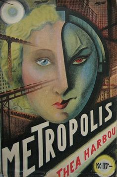 Czech 1st ed from 1927 Thea von Harbou Metropolis