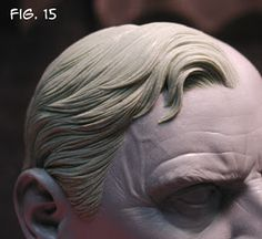 Sculpting Tutorials: Casteline Hair Sculpting Tutorial by Andy Bergholtz Sculpting Tutorials, Art Tutorials, Anatomy Sculpture, Face Anatomy, Sculpture Techniques, Realistic Rose, Sculpture Clay, Sculpture Portrait, Bronze Sculpture