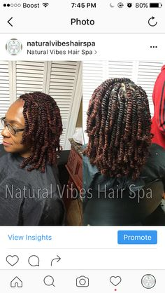 ➰Spring Twists➰  You can find all pricing, availability and information about what you will need to bring to your appointment at www.naturalvibeshairspa.com or styleseat.com/BriStayTwistin. 📲TEXT 9194217551 FOR BOOKING HELP! 📖  #ropetwist #springtwist #nubiantwists #twists #braids #protectivestyles #naturalhairdaily#naturalproducts #organicproducts #organichair #holistichair #healing #spa #goodvibes #vibes #healthyhair