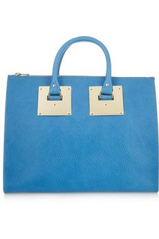 Sophie Hulme Textured-leather tote | NET-A-PORTER