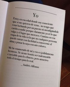 Discover recipes, home ideas, style inspiration and other ideas to try. Poetry Quotes, Book Quotes, Me Quotes, Inspirational Phrases, Motivational Phrases, Love Phrases, Love Words, Frases Love, Quotes En Espanol