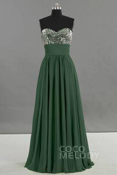 Latest Sheath-Column Sweetheart Natural Floor Length Chiffon Sleeveless Bridesmaid Dress with Pleating E23028 #bridesmaiddresses #bridesmaids #cocomelody #sparklydresses #customdresses