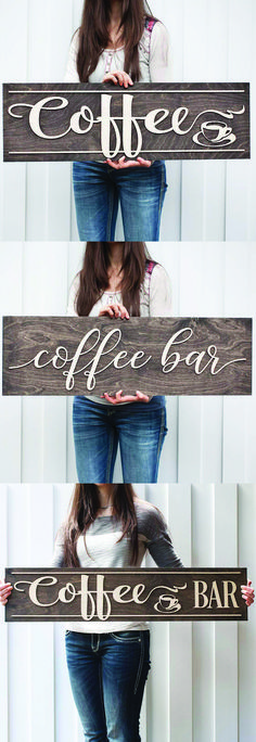 Coffee Signs, Coffee Bar Signs,  #coffee #coffeebar #coffeesign