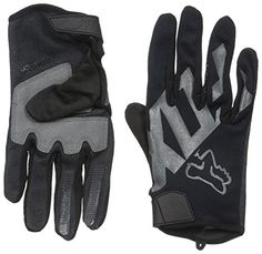 Fox Racing Ranger Mountain Bike Gloves, Black, Small FoxP…