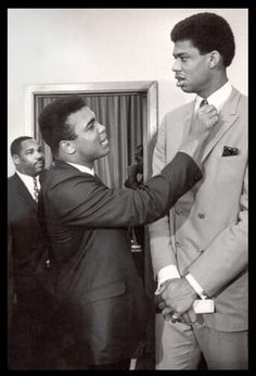 I Never Felt Taller Than When Standing in Muhammad Ali's Shadow