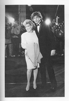 Bette Midler and Barry Manilow. He got his start as her piano player.