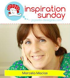 jojoebi designs: Inspiration Sunday - with Marcela Macías Sunday, Inspiration, Argentina, Biblical Inspiration, Domingo, Inhalation