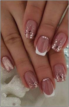 nail art designs with glitter & nail art designs ; nail art designs for spring ; nail art designs for winter ; nail art designs with glitter ; nail art designs with rhinestones Pretty Nail Art, Beautiful Nail Art, Gorgeous Nails, Classy Nail Art, Beautiful Nail Designs, Perfect Nails, Beautiful Pictures, Nail Design Glitter, Glitter Nail Art