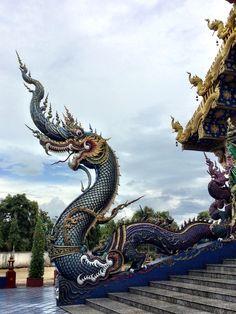 Rim Kok region, Temple. Chiang Rai, Thailand.