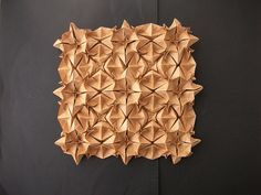 Tessellation - paper folding art; 3D tessellating patterns & meticulous structures; creative surface design // Andrea Russo