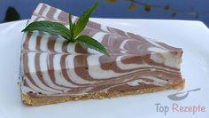 Ein leckerer Cheesecake mit Schokolade, ohne Backen. Sieht nicht nur sehr gut aus, sondern schmeckt auch fantastisch.
