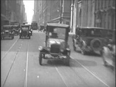 Driving Around New York City - 1928 - great footage, with baseball player babe Ruth