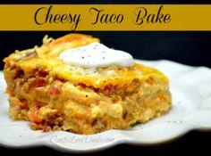 Cheesy Taco Bake recipe
