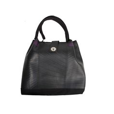 Anna - Thought all tote bags were just the same? Think again. The unique texture of the inner tubes and bright detailing helps this vibrant tote stand out from the crowd. Available at www.sapu.eu