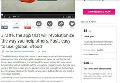 #perks #indiegogo https://www.indiegogo.com/projects/do-you-want-to-help-people-have-a-decent-meal/x/8859577 #foodwaste
