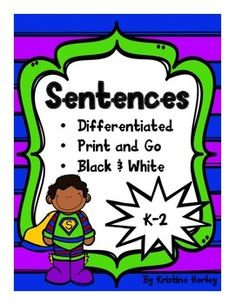 This resource can be used as part of whole group instruction,small group instruction, one on one instruction, and/or independent practice. There are 30 different sentence writing practice pages using10 different picture prompts (three levels for each picture).