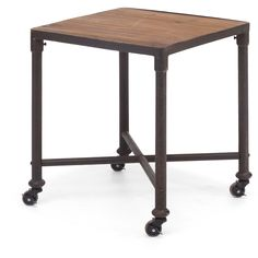 Mansfield Side Table Distressed Natural