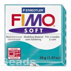 £1.64 Staedtler Fimo Soft Polymer Clay Peppermint 56g (1.97oz)
