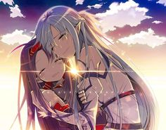 Find images and videos about anime, sword art online and asuna on We Heart It - the app to get lost in what you love. Arte Online, Online Art, Film Anime, Manga Anime, Anime Eyes, Sword Art Online Yuuki, Tous Les Anime, Sword Art Online Wallpaper, Kirito Asuna