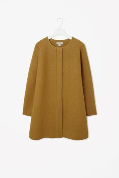 a-line wool coat by cos.