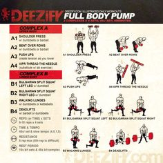 wod full body pump