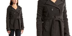 Charcoal Belted Fleece Peacoat Now Just $8.29! (Was $63.00) http://heresyoursavings.com/charcoal-belted-fleece-peacoat-now-just-8-29-63-00/