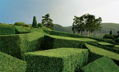 Surreal Views of the Marqueyssac Topiary Gardens Photographed by Philippe Jarrigeon | Colossal