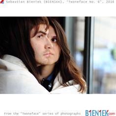 "Sebastian Bieniek (B1EN1EK), ""Twoneface No. 6"", 2016. Photography. From the ""Twoneface "" series.  Now online: https://www.b1en1ek.com/works/photography/2016-twoneface/"