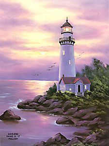 561 Windows of My World 8 CD By Jackie Claflin. This is a CD format for use on… Watercolor Landscape, Landscape Art, Landscape Paintings, Watercolor Paintings, Lighthouse Pictures, Lighthouse Painting, Thomas Kinkade, Pictures To Paint, Pretty Pictures