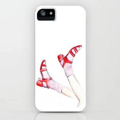 Red shoes iPhone Case by martadehojas Red Shoes, Iphone Cases, Shop, Stuff To Buy, Red Dress Shoes, I Phone Cases, Iphone Case, Store