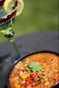 Mexican Freekeh Chili with Beans | The Whole Grains Council