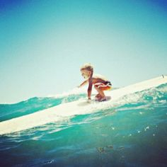 Surf on, little dude.