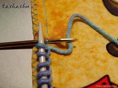 Мобильный LiveInternet Чудо находка для вязальщиц - Как набрать петли на ткани при комбинированной вязке   Ирина_Зелёная - Всё самое модное, интересное и вкусное вы найдёте у perchica  