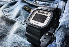 NEIGHBORHOOD & G-Shock Team Up on the DW-5600 Watch