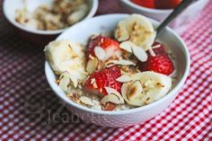 Breakfast Coconut Milk Quinoa with Fresh Fruit Recipe {Video} - Jeanette's Healthy Living