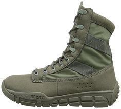 Rocky Men's Military and Tactical Boot, Sage Green. Chukka Shoes, Sneaker Boots, Nike Sfb, Duty Boots, Mens Fashion Sweaters, Steel Toe Boots, Mens Shoes Boots, Black Oxfords, Fashion Boots
