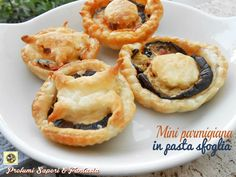 Mini parmigiana in pasta sfoglia Blog Profumi Sapori & Fantasia